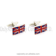 red enemal cufflink wholesale china metal collar stays