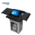 Smart digital metal podium lectern for education and conference