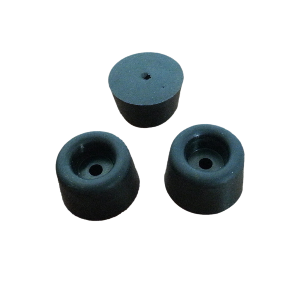 Black Round Chair Leg Inserts Lowes Rubber Feet For Chair