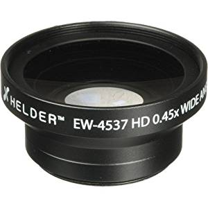 Helder EW-4537 37mm HD 0.45x Wide Angle Conversion Lens(4 Pack)