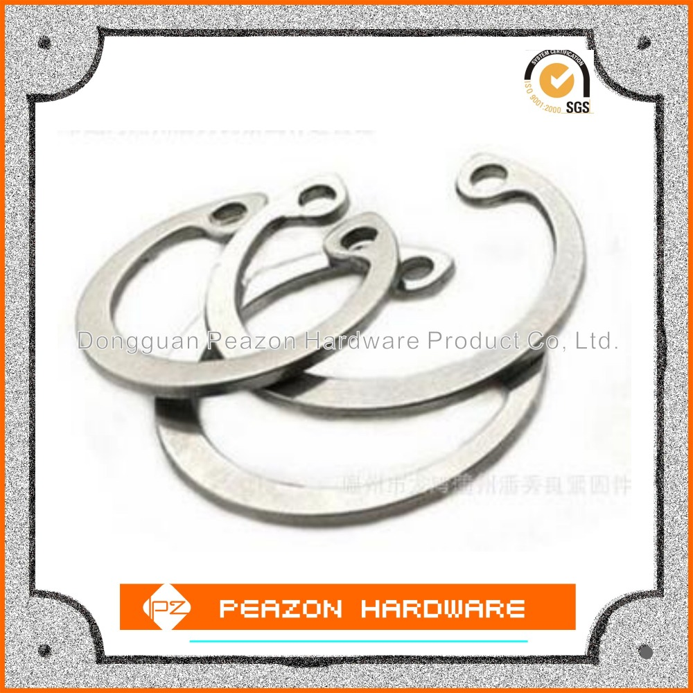 china made Retaining rings for shafts standard circlips good quality