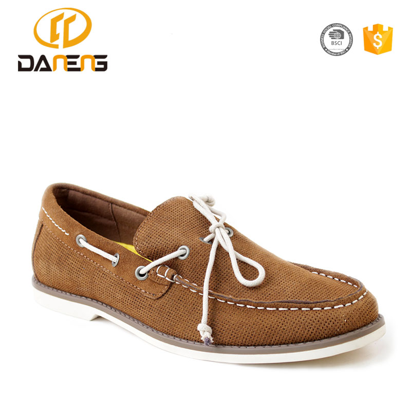 New Arrive Suede Leather Men Casual Shoes, Men Flat Shoes 2017