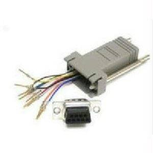 """C2g 10-Pin Rj45 To Db9 Male Modular Adapter - By """"C2g"""" - Prod. Class: Network Hardware/Network Cable / Other"""