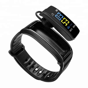 New color screen Heart Rate Monitor Pedometer sports bluetooth smart fitness bracelet talk band