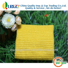 100 Polyester Towel Yellow Stripe bambooie cleaning cloth