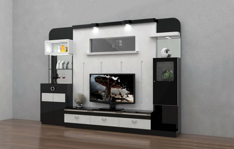 Morden Tv Lcd Wooden Cabinet Designs
