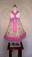 Cheap childrens clothes online birthday party dress baby dresses(kids clothes)