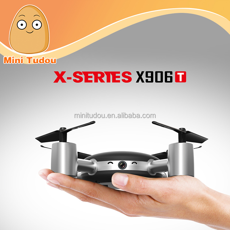 Mini Tudou New Quadcopter 2.4G 6-axis FPV Real-time Transmission X906T Lily Camera Drone