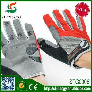 Best selling promotion full finger Cycling glove for motorcycle