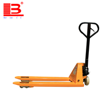 Fashion 1ton rough terrain hand pallet truck for order picking