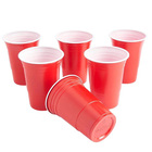 Recycling Red Party Cup Plastic Cold Drinks,BEER PONG 16 Oz Drinking Cups ,Washable Perfect plastic Red Solo cups Reusable