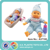 Baby doll basket with lovely doll