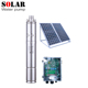 120m solar submersible screw water pump price for agriculture deep head in Kenya