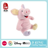 Comfortable practical beautiful child education plush pig toy pillow