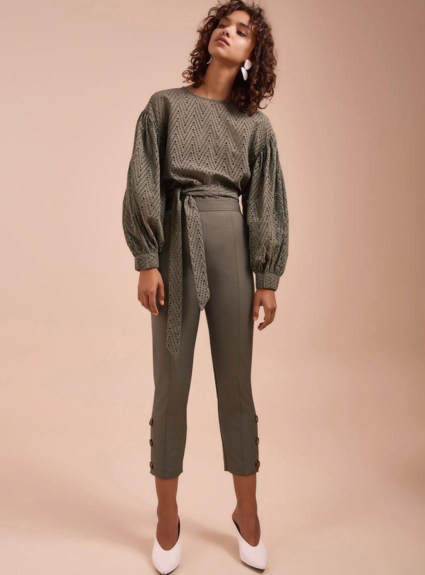 c39137a9394428 Puff Sleeves Fashion Design Wrap Blouse Women - Buy Fashion ...
