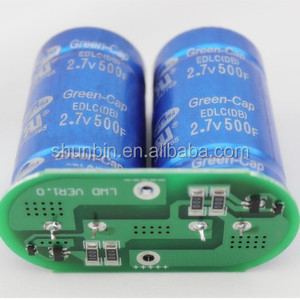 Super Capacitor Module 5.4V 250F super capacitor power bank 5.5v super capacitor