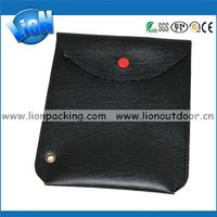 Low price professional magnetic flip leather pouch