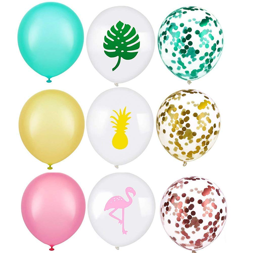 Birthday Party Paper Flower Ball Balloon High Quality Tassel Flag Festival Holiday Colorful Style Affordable Latex Non-toxic Fancy Colours Ballons & Accessories Home & Garden