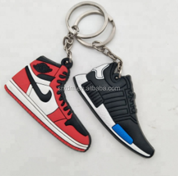 Jordan 3d Keychainrubber Basketball Buy Custom New 11 Keychain Keychainminiature Man Air For Nike Shoes Y7v6yIbgf