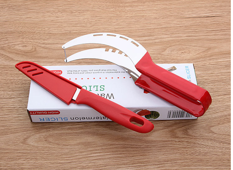 fruit cutter Tool two-piece watermelon slicer corer