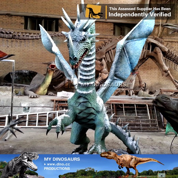 MY Dino-D7-12 Life Size Realistic Animatronic Dragon For Sale