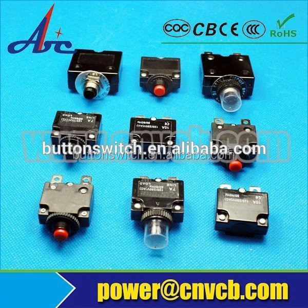 10A 32Vdc Circuit breaker Thermal overload switch protection