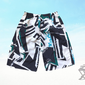 Summer Holiday Men's Beachwear Swim Trunks Quick Dry shorts