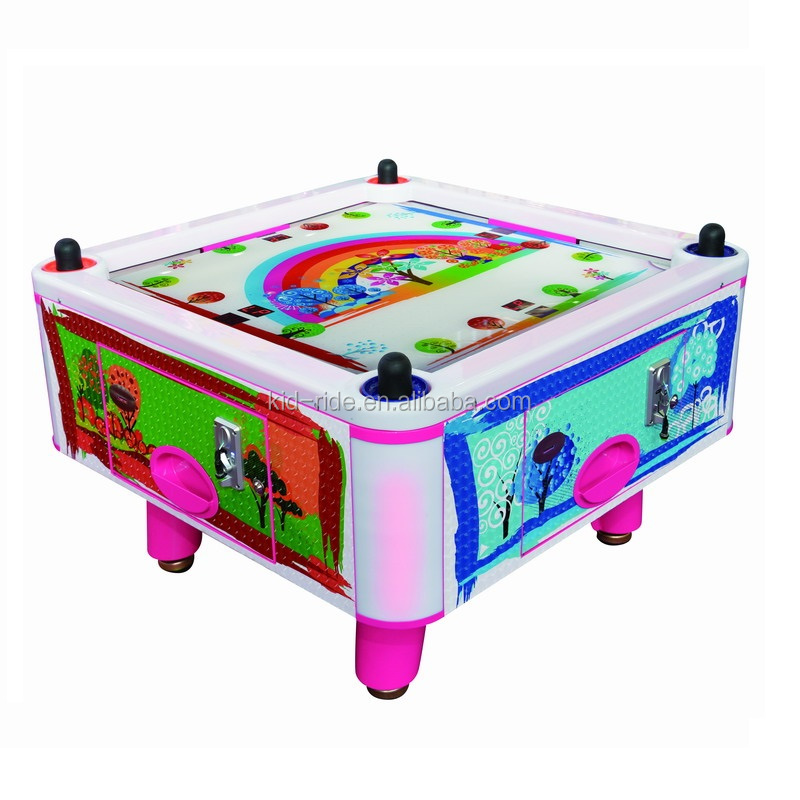 Playground Kids Play Area Amusement Park Equipment Arcade Table Game Air Hockey  Coin Operated Arcade Game Machine