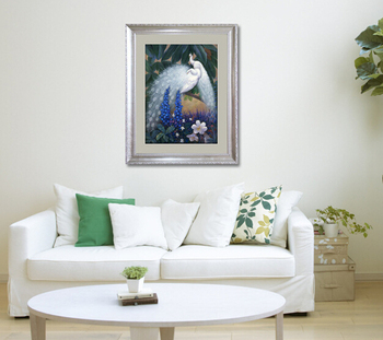 8ec95ee3715 High-end Framed Wall Art With Peacock For Home - Buy Framed Wall ...