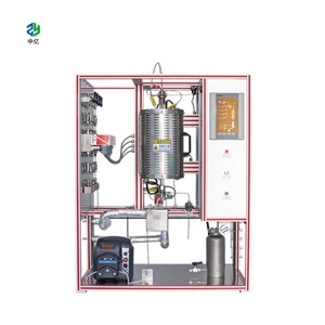 industrial photochemical high pressure trickle-bed reactor