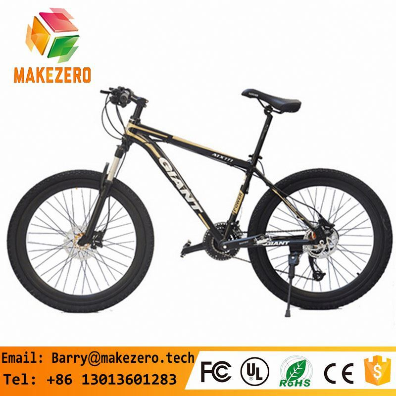 SPORTS MTB!black and yellow shifting MTB 21 speed double disc-brake mountain bike