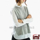 Mongolian Cashmere Sleeveless Sweaters and Vests Patterns & Knits