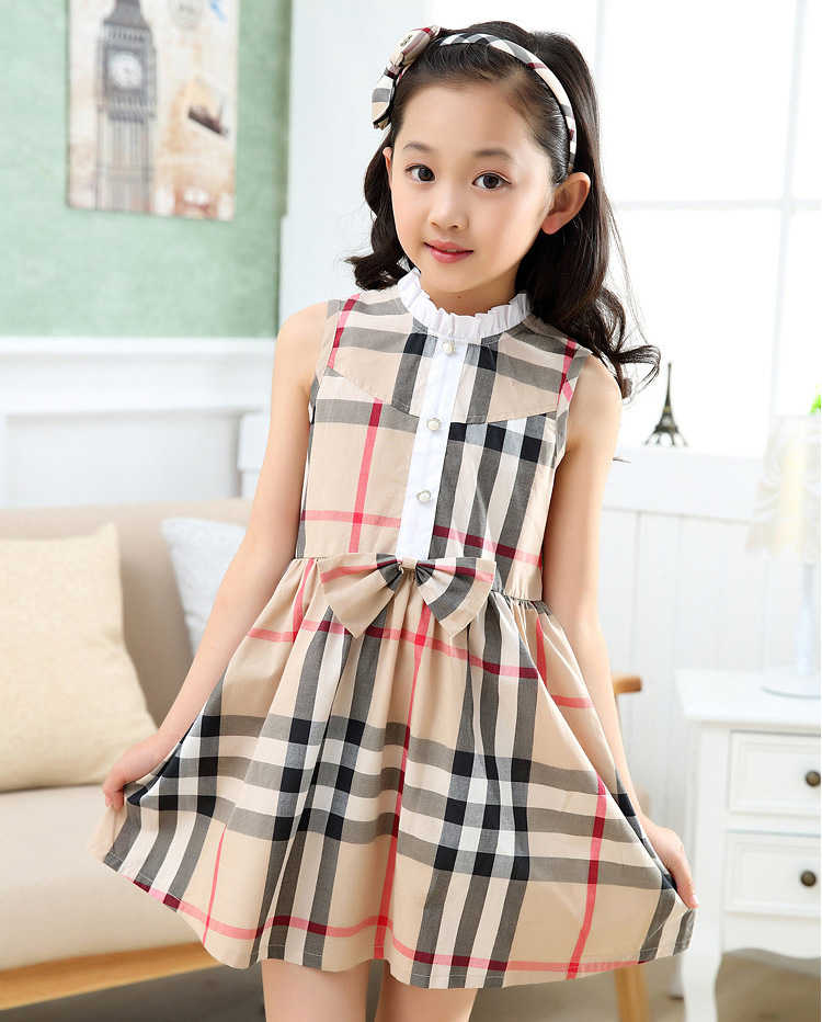 e0a675f5a410 New Style Birthday Casual Dress 1 Year Baby Fashion Design Small ...