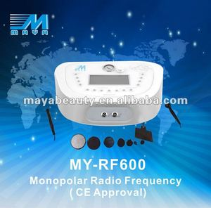 MY-RF600 Portable newest Monopolal RET CET RF beauty system (CE Approved)