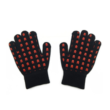 Customized fashional Screen Bluetooth knitting cotton gloves