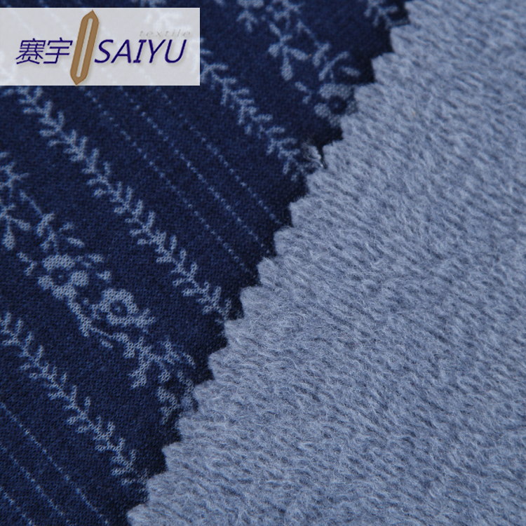 Factory direct polyester aplic work embroidery on velvet fabric