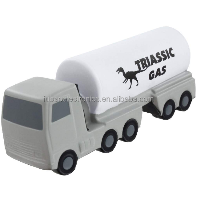 factory supplier custom traffic promotional toy pu Oil Tanker Stress Ball