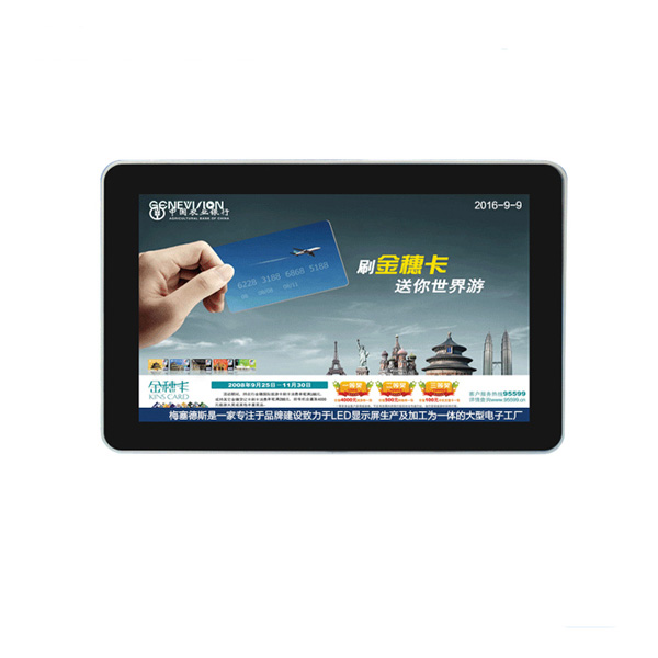 10.1inch Digital Android 12v Mini Media Player For Car, Taxi Touch Lcd Monitor for Taxi Advertising Screen