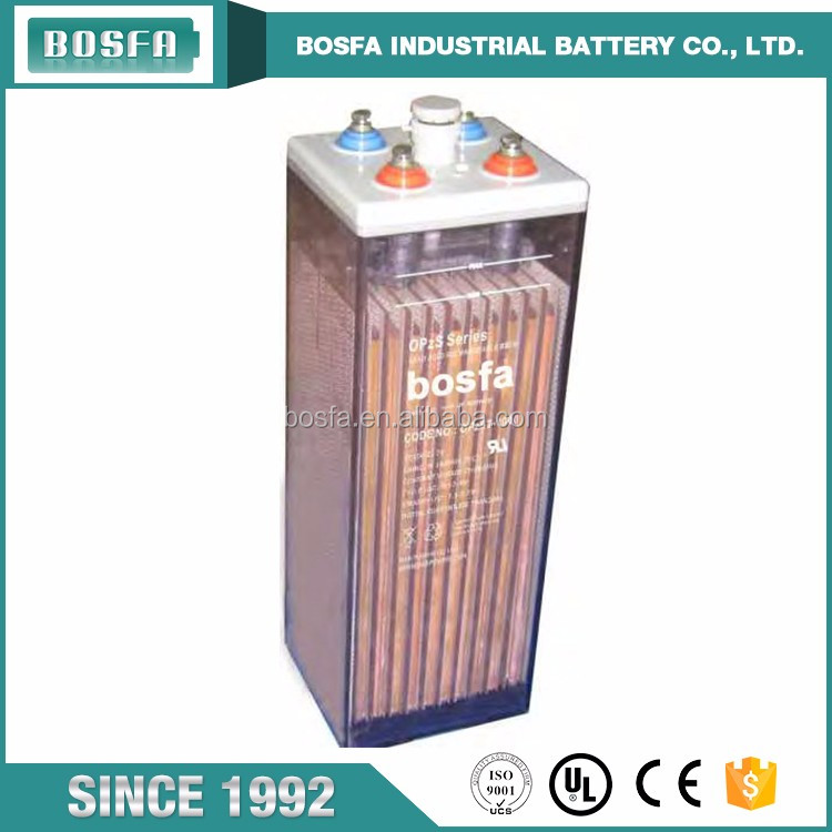 Long Life valve-regulated lead-acid battery 12v 1000ah tubular OPzS battery