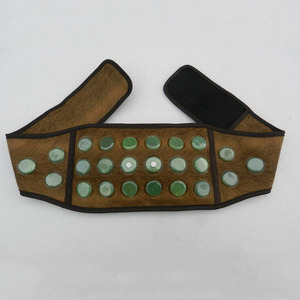 Jade stone massage belt for wholesale, heating massage healthcare massage belt