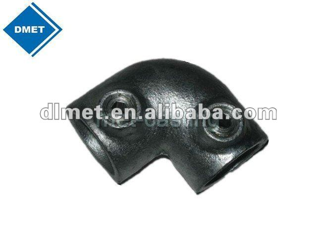 Iron casting pipe clamp fittings