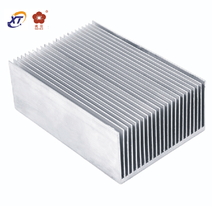 High quality aluminum alloy heat sink heatsink fin extrusion profile
