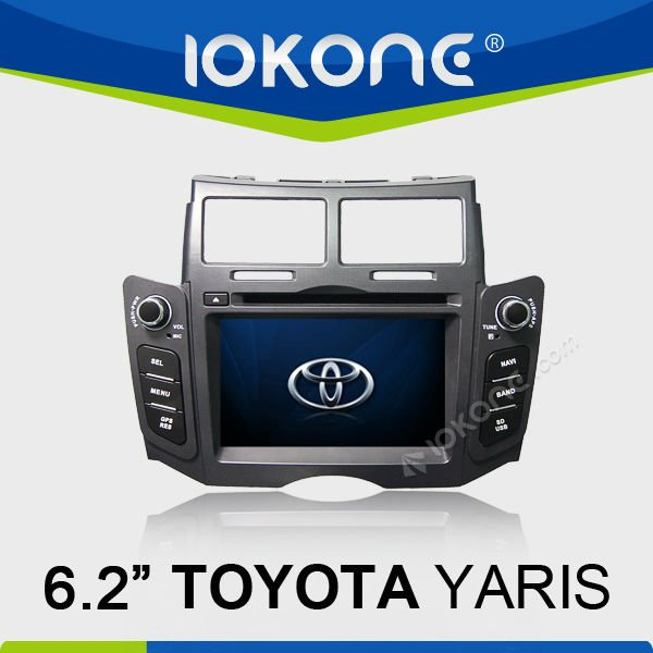 Double Din 7inch TOYOTA YARIS Car DVD Player hdmi