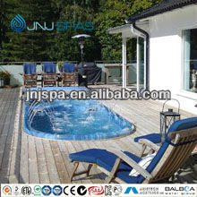 Swimming spa endless swimming whirlpool spa outdoor pool with TUV ETL CE SAA certification