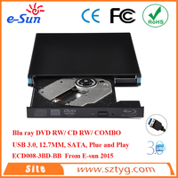 Original External USB 3.0 Blue Ray DVDRW/ DVD COMBO / CD RW Drive sata hard drives