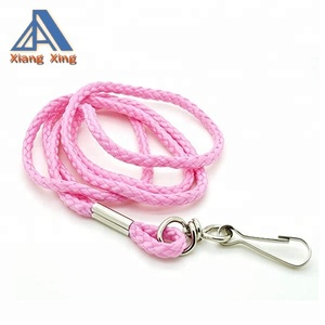 "1/4"" Round Rope 36"" long Economic round Lanyards for any events or trade shows"