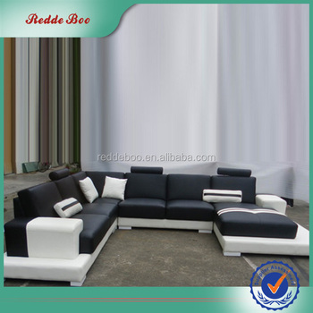 Unique design cheap price living room sofa leather office sofa set