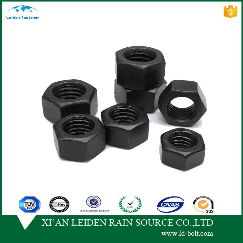 high quality colored hex nuts