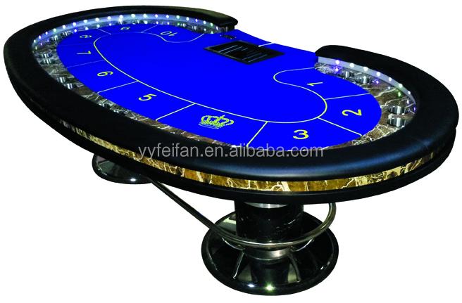 Piala Ganda Kasino Poker Meja Meja Poker Profesional Dengan Cahaya Yang Dipimpin Buy Pentungan Polisi Meja Poker Product On Alibaba Com