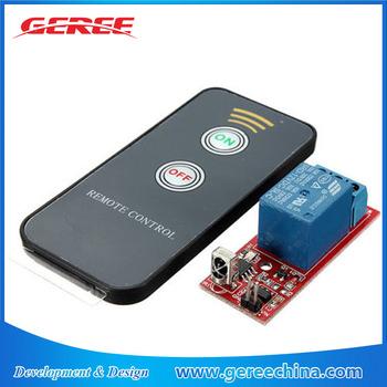 Geree 12v 1 Channel Self Lock Wireless Remote Control Relay Switch - Buy  Wireless Relay,Wireless Remote Control Relay Switch,Wireless Relay Switch